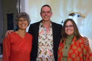 From left to right: Joyce Leonard (Lori's Reiki Teacher), Frans Stiene (Joyce's Reiki Teacher) and Lori McClellan, 2013
