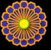 reiki_space_purple_japanese_flower_crest